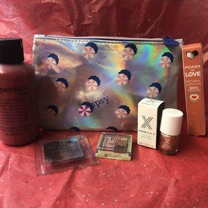 Candy ipsy bag w/ mixed beauty products